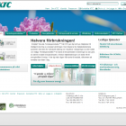 Website for KTC, 2008. The website is running on a CMS called SAVA CMS.